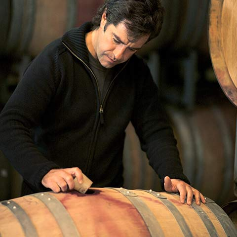 Winemaker Adolfo Hurtado